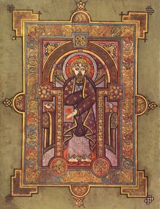 The Book of Kells Portrait of St. Matthew