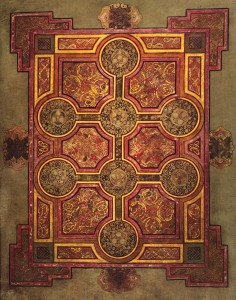 The Book of Kells carpet page