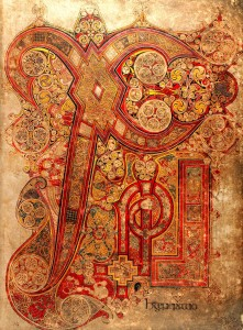 The Book of Kells chi-rho page